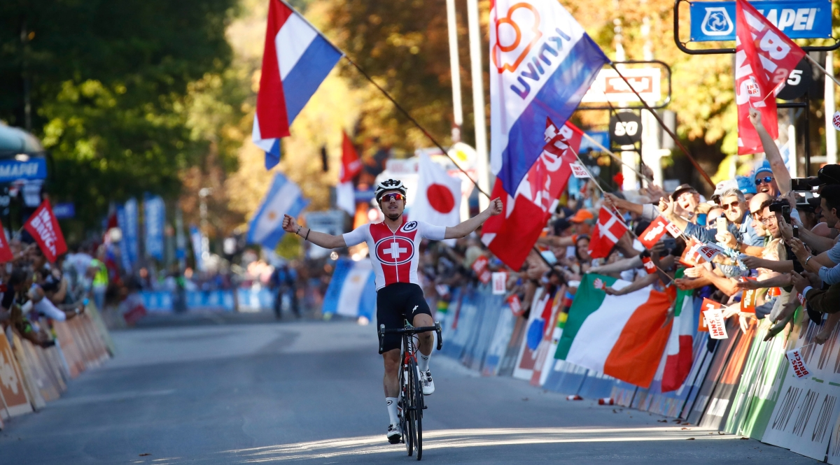 Marc Hirchi (SUI) - 2018 UCI Road World Championships