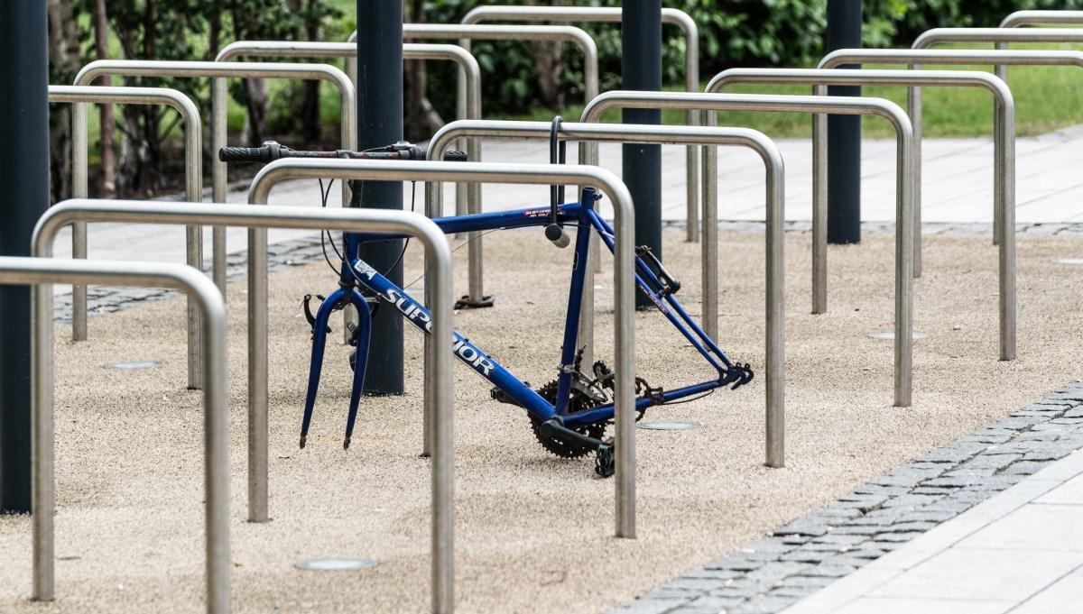 W miejski rower też trzebaumieć