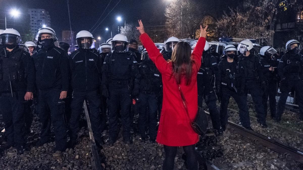 Strajk Kobiet, fot. Grzegorz Żukowski